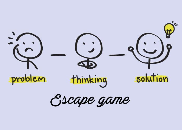 illustration escape game